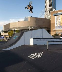 UCI BMX Freestyle Park World cup 2016 in Denver, Colorado