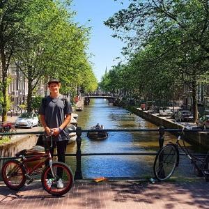 Amsterdam baaabbyyyyyy yehhhh!